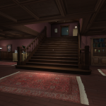 Gone Home is really about the exploration of a house and it's inhabitants.  How do they get along?  What motivates them?  You start out in the lobby and work your way around a mansion, uncovering these details.