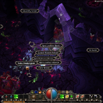 Torchlight believes that difficulty is all about throwing hordes of enemies your way.  This picture shows off a grim array of dead bodies littering the floor, plus all the loot they dropped.
