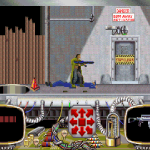 """The action sequences form a kind of """"platforming"""" section to the game.  Think """"BlackThorne"""" or any number of games like that.  But this is /quite/ finicky with how you jump and shoot."""