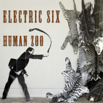 A tamer with a whip, making weird looking animals of all persuasions float around on the right hand side of the cover?  Sounds right for Electric Six.