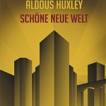 "Huxley's Brave New World is often about starkness - lack of feeling anything but ""emotionally content"" and this cover absolutely captures that feeling - it is golden, perfect skyscrapers that touch the sky."