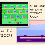 Frantic Freddy was simple, but difficult. Empire Strikes Back was just difficult :)