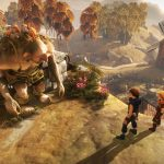 """For much of it's run-time, brothers is about the experience of the characters and the world they inhabit.  But sometimes, all that falls away and it becomes abundantly clear that you're playing """"a video game.""""  The troll boss battle feels much this way."""